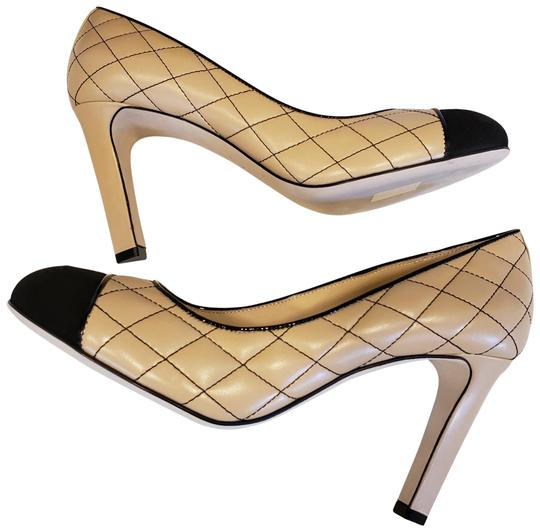 Preload https://img-static.tradesy.com/item/24859123/chanel-beigeblack-18a-quilted-nappa-leather-suede-cap-toe-pumps-size-eu-385-approx-us-85-regular-m-b-0-1-540-540.jpg
