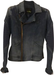 Sam Edelman Moto denim Womens Jean Jacket