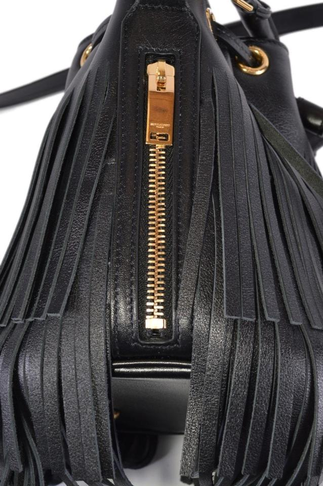 823f78cc69 Saint Laurent Emmanuelle New Ysl 357603 Bucket Purse Black Leather Cross  Body Bag - Tradesy