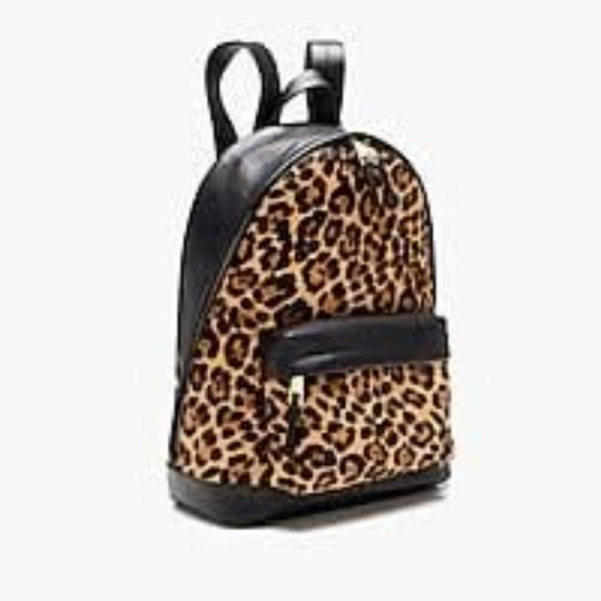 J.Crew J.Crew Harper backpack in Italian Leather and Calf Hair. Adjustable strap. Image 2