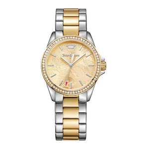 Juicy Couture NEW Juicy Couture 1901521 Women's Laguna 2 Tone Silver/Gold Watch