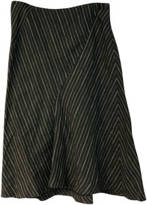 M Missoni Linen Skirt Black