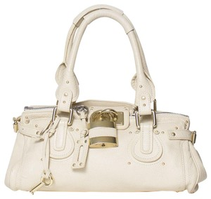 2ef8f43f2c5d White Chloé Shoulder Bags - Up to 90% off at Tradesy