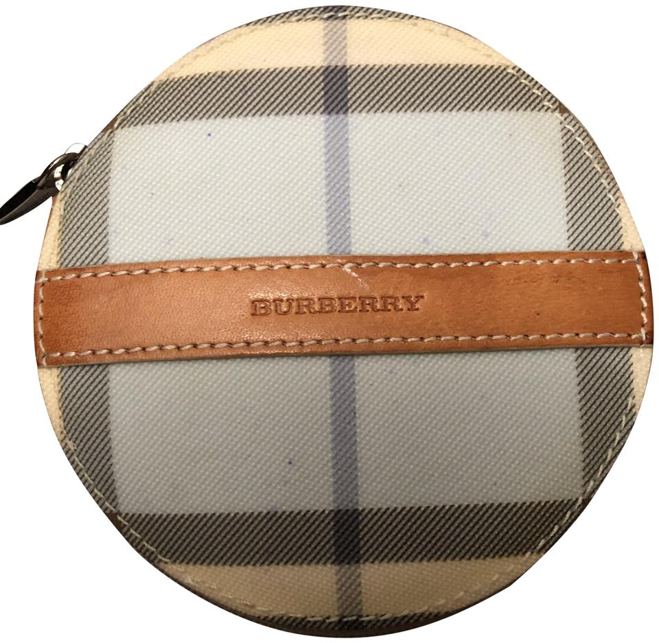 c4b4b58d638f Burberry Plaid Coin Purse Wallet - Tradesy