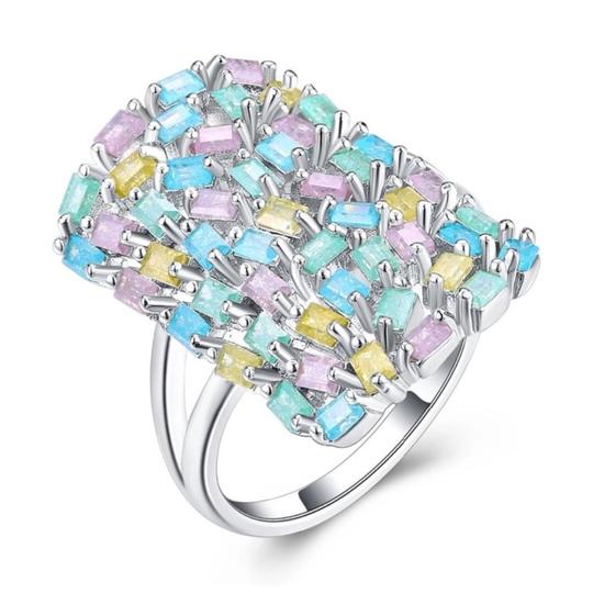 ME Boutiques Private Label Collection Swarovski Crystals The Aerwyna Pixie Ring Size 9 S5 Image 3