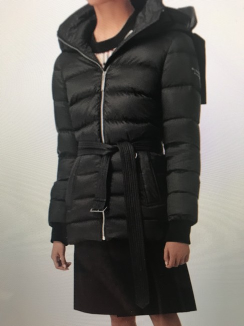 Burberry London Black Limehouse Hooded Mid-length Puffer Jacket Coat Size 12 (L) Burberry London Black Limehouse Hooded Mid-length Puffer Jacket Coat Size 12 (L) Image 4