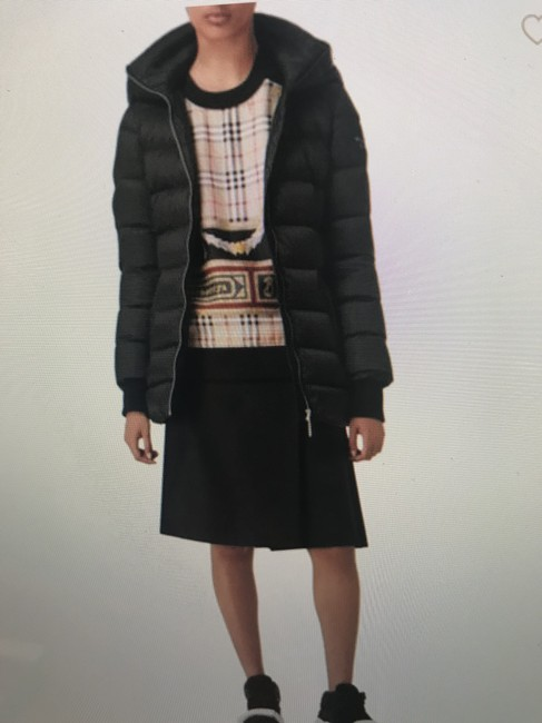 Burberry London Black Limehouse Hooded Mid-length Puffer Jacket Coat Size 12 (L) Burberry London Black Limehouse Hooded Mid-length Puffer Jacket Coat Size 12 (L) Image 5