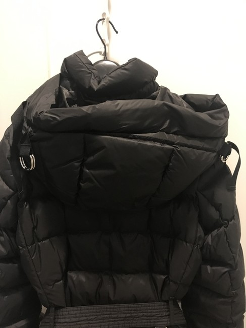 Burberry London Black Limehouse Hooded Mid-length Puffer Jacket Coat Size 12 (L) Burberry London Black Limehouse Hooded Mid-length Puffer Jacket Coat Size 12 (L) Image 6