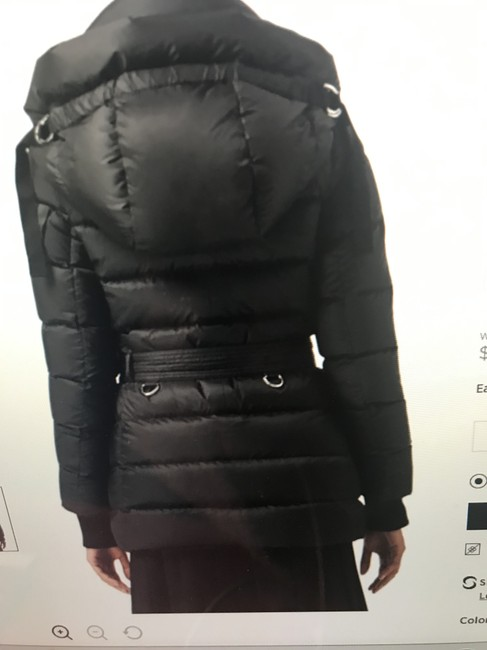 Burberry London Black Limehouse Hooded Mid-length Puffer Jacket Coat Size 12 (L) Burberry London Black Limehouse Hooded Mid-length Puffer Jacket Coat Size 12 (L) Image 7