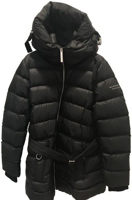 Burberry London Black Limehouse Hooded Mid-length Puffer Jacket Coat Size 12 (L) Burberry London Black Limehouse Hooded Mid-length Puffer Jacket Coat Size 12 (L) Image 1