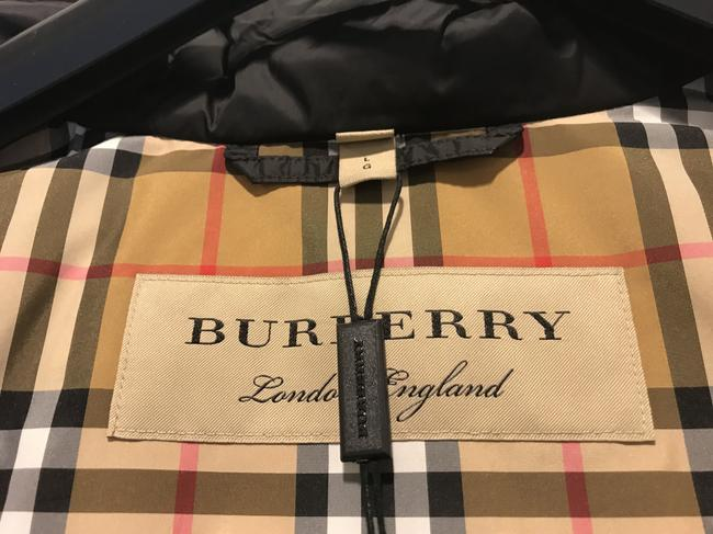 Burberry London Black Limehouse Hooded Mid-length Puffer Jacket Coat Size 12 (L) Burberry London Black Limehouse Hooded Mid-length Puffer Jacket Coat Size 12 (L) Image 10