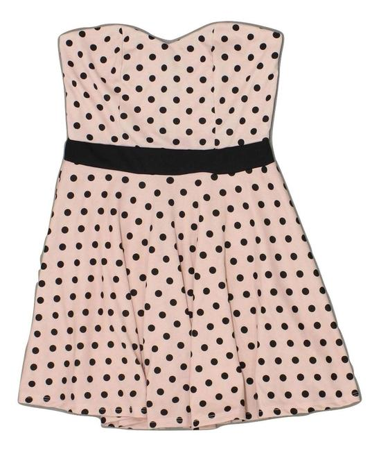 Charlotte Russe Polka Dot 50's Mini Retro Stretchy Dress Image 2