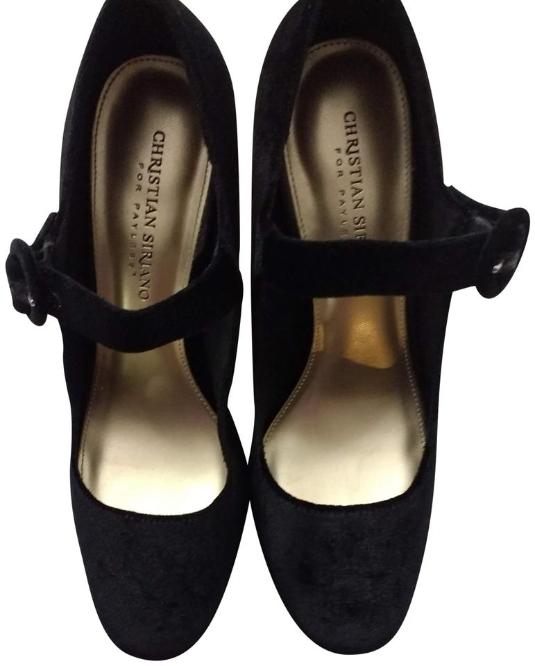 955e7389a92 Black For Payless Marley Pumps