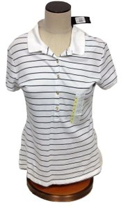 The Limited Short Sleeve Top White Striped