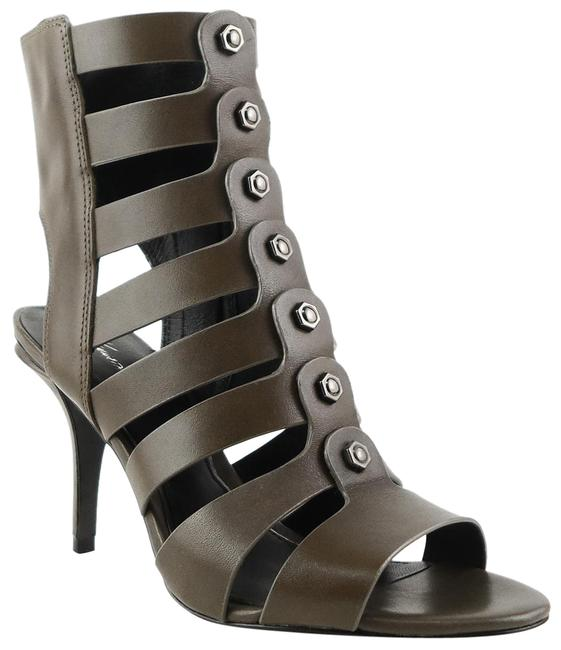 Item - Olive Green New York Thatford Booties Open Toe Sandals Pumps Size US 8 Regular (M, B)