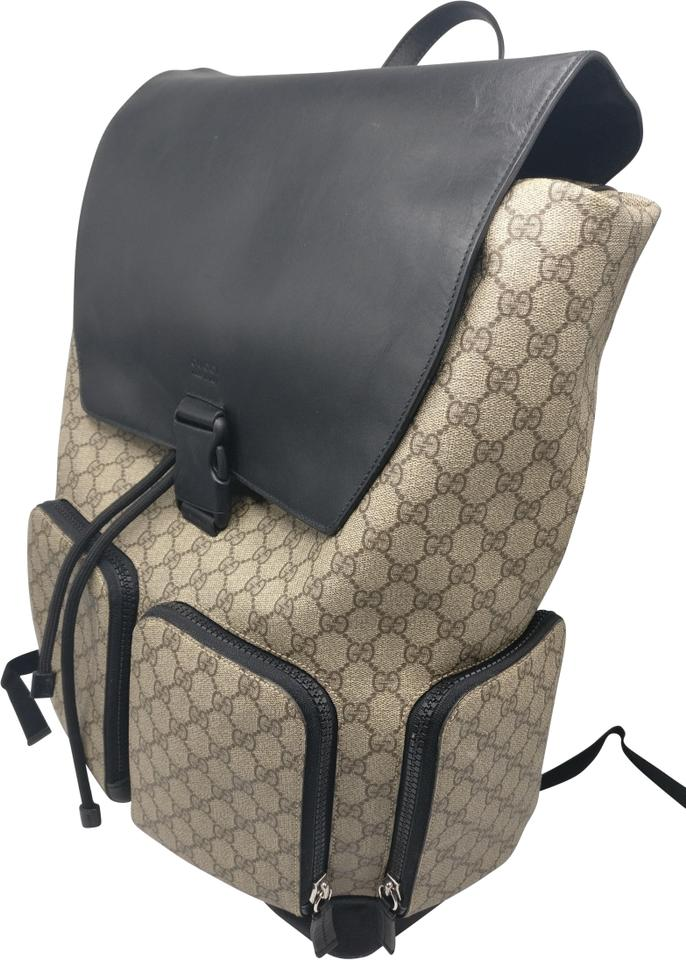 9f8a24551 Gucci Supreme Gg Monogram Travel Carry On Backpack Image 0 ...