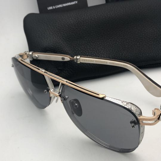 Chrome Hearts CHROME HEARTS Sunglasses POSTYANK BS/GP-WEPV Silver Gold Ebony Wood Image 9