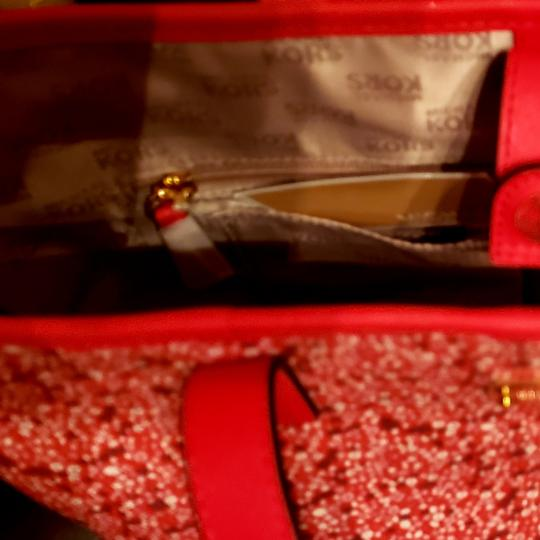Michael Kors Tote in Pink and Red Image 5