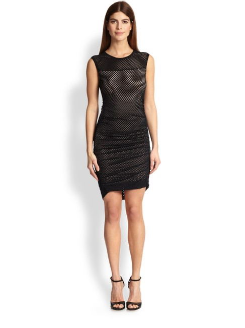 Preload https://img-static.tradesy.com/item/24860130/bcbgmaxazria-black-dell-mesh-short-night-out-dress-size-2-xs-0-0-650-650.jpg