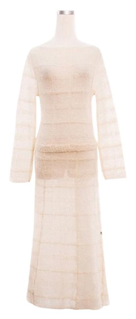 Ivory Maxi Dress by Chanel Elegance Image 1