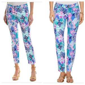 Lilly Pulitzer Capri/Cropped Pants Blue