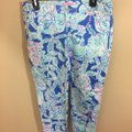 Lilly Pulitzer Capri/Cropped Pants Blue Image 2