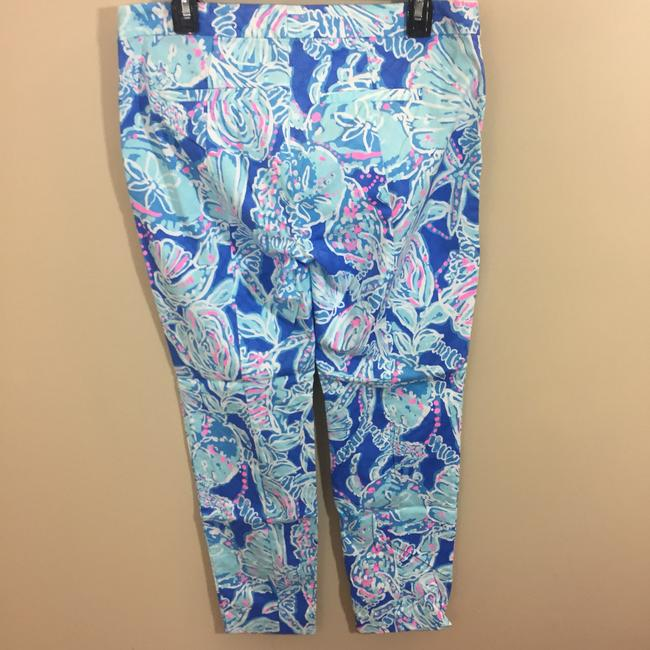Lilly Pulitzer Capri/Cropped Pants Blue Image 4
