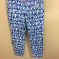 Lilly Pulitzer Capri/Cropped Pants Blue Image 1