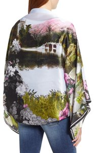 Ted Baker Ted Baker Averry Windermere Silk Cape Scarf