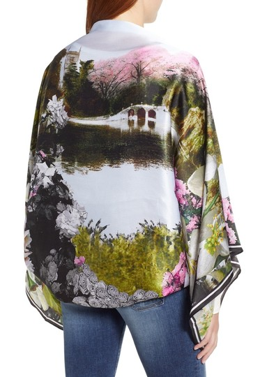 Ted Baker Ted Baker Averry Windermere Silk Cape Scarf Image 2