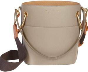 69ef7f90a3d0 Chloé Drawstring Bucket Roy Gold Hardware Leather Hobo Bag