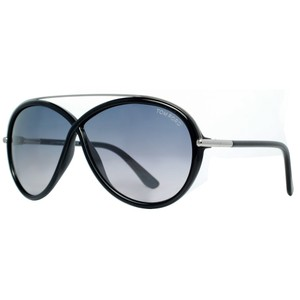 6c838cb71e Tom Ford Tom Ford Tamara Shiny Black Gradient Women s Oval Sunglasses New