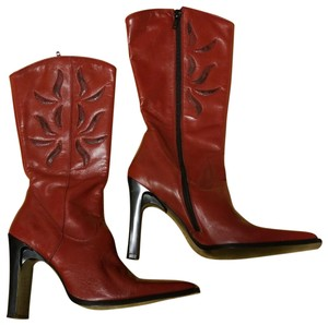 Charles David Red with Sun Bursts Boots