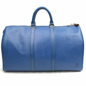 9d3d712e953c Louis Vuitton Keepall Empreinte Keepall Damier Keepall Monogram Keepall  Navy Keepall Blue Travel Bag