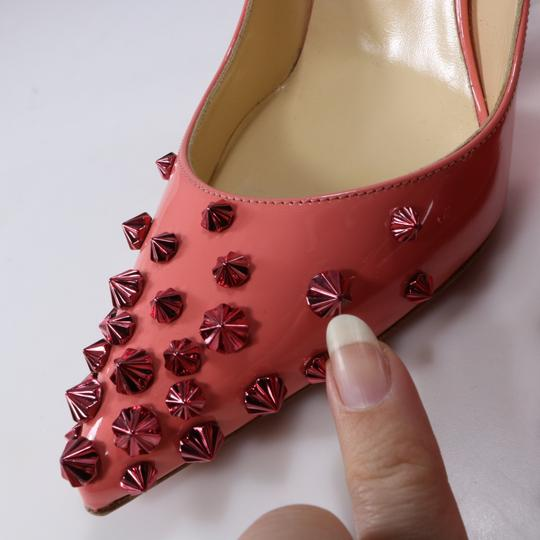 Christian Louboutin Coral Coral Living Coral Spike Heels pink Pumps Image 10