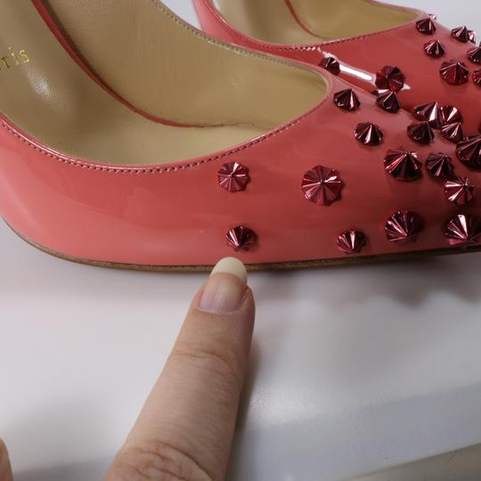 Christian Louboutin Coral Coral Living Coral Spike Heels pink Pumps Image 11