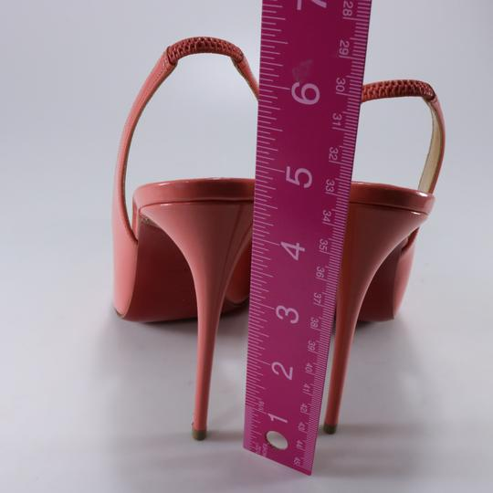 Christian Louboutin Coral Coral Living Coral Spike Heels pink Pumps Image 6