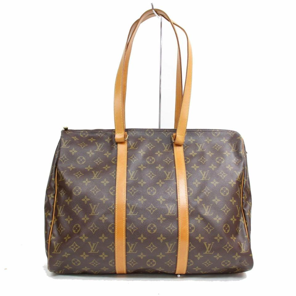 f19ee372985c Louis Vuitton Keepall Flanery Carryall Sac Shopping Neverfull Shoulder Bag  Image 0 ...