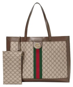 e09164a899f10f Added to Shopping Bag. Gucci Ophidia Tote. Gucci Ophidia Large Gg Supreme Canvas  Tote