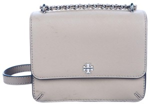 Tory Burch Silver Hardware Silver Rope Chain Tb Gift Packing New With Cross Body Bag