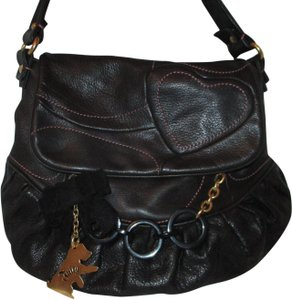 Juicy Couture Cowhide Leather Shoulderbag 003 Hobo Bag