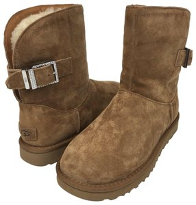 c7be3122d75 UGG Australia Chestnut Remora Buckle Boots/Booties Size US 7 Regular (M, B)