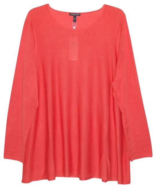 Preload https://img-static.tradesy.com/item/24862436/eileen-fisher-red-lory-round-neck-long-sleeve-tunic-size-20-plus-1x-0-1-650-650.jpg