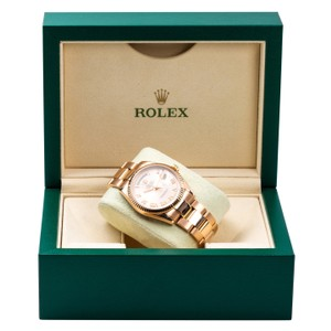 Rolex 18K Rose Gold Rolex Day-Date 118235 36mm Pink Champagne Dial