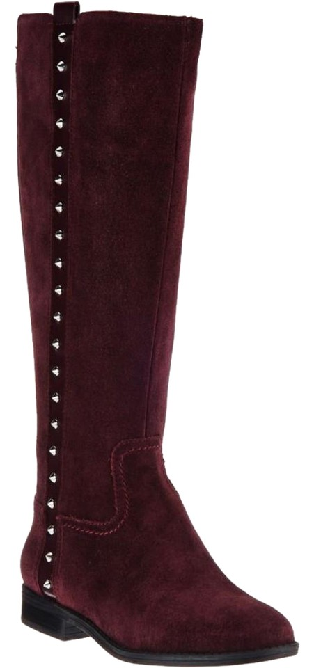 5a93908729c Marc Fisher Isaac Mizrahi Live Leather and Stretch Fabric Wedge Boots  Booties