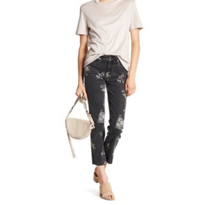 Paige Straight Leg Jeans-Light Wash