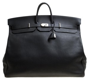 47a53a6e6e73 Added to Shopping Bag. Hermès Leather Tote in Black. Hermès Birkin Clemence Palladium  Hardware ...