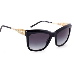 Burberry Burberry Gold Laser Cut Lace Sunglasses NWT