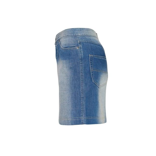 Gianfranco Ferre Made In Italy Denim Pencil Mini Jean Mini Skirt Blue Image 3