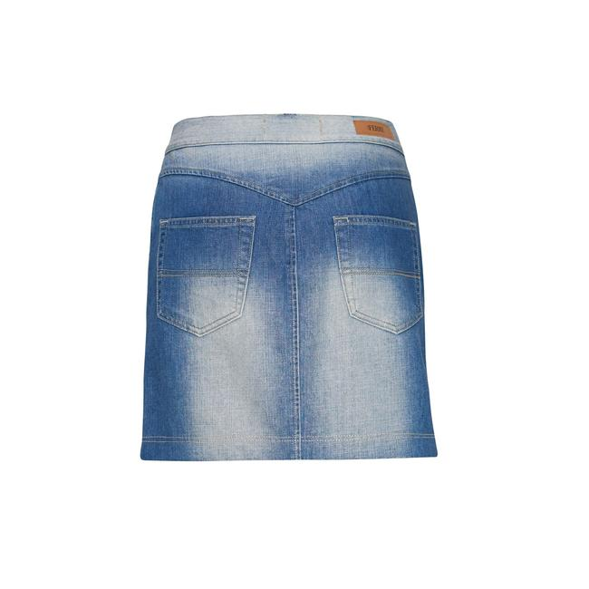 Gianfranco Ferre Made In Italy Denim Pencil Mini Jean Mini Skirt Blue Image 4